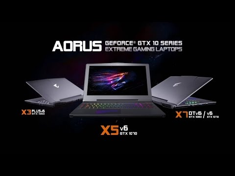 AORUS - GeForce GTX 10 Series Gaming Laptops