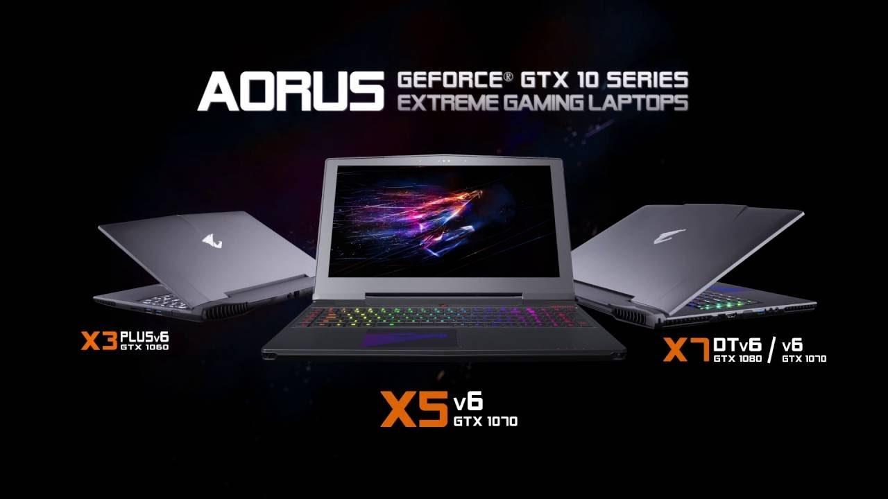 AORUS - GeForce GTX 10 Series Gaming Laptops