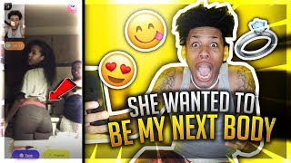 ASKING RANDOM GIRLS WHATS THEY BODY COUNT ON MONKEY APP🐵😱 | I STOLE HIS GIRL SHES MINE😍💍