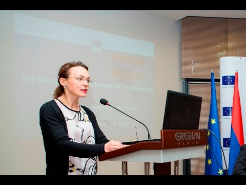 EU GSP+ Informative event for Armenian business Exporting to the EU (ENG)