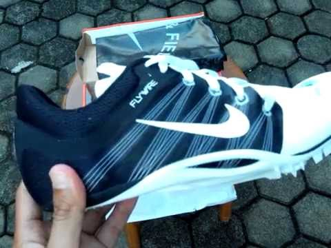 5bf6b20af7130 Sepatu Spikes Nike Zoom Ja Fly 2 Black White 705373 100 Unboxing ...