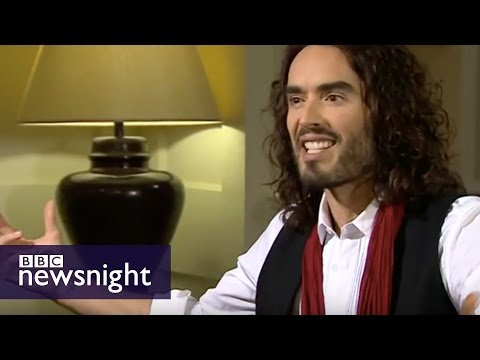 Paxman vs Russell Brand - full interview - BBC Newsnight