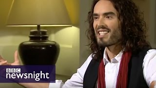 Paxman vs Russell Brand - full interview - BBC Newsnight thumbnail