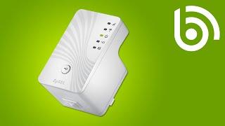 ZyXEL WRE2205 WiFi N Range Extender Introduction