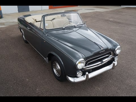 Geliebte Peugeot 403 cabriolet 1960 - YouTube &WB_22