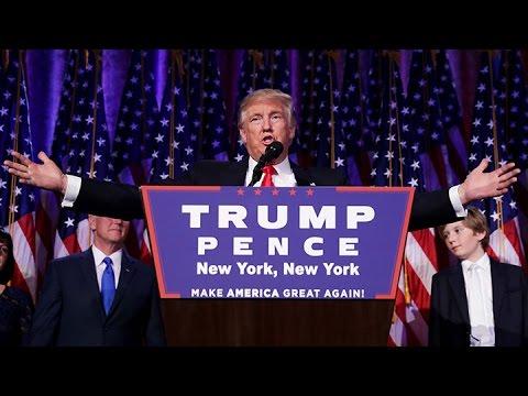Donald Trump, en su primer discurso tras el triunfo electoral: Seré el presidente de todos
