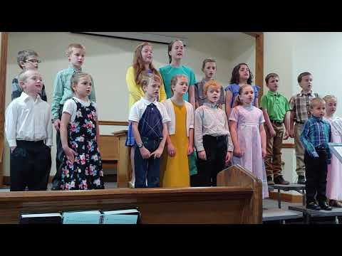 Chestnut Street Christian School Spring Program
