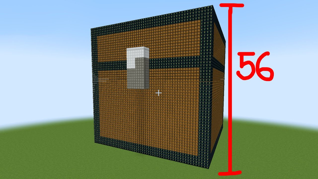 largest chest made out of chests in minecraft