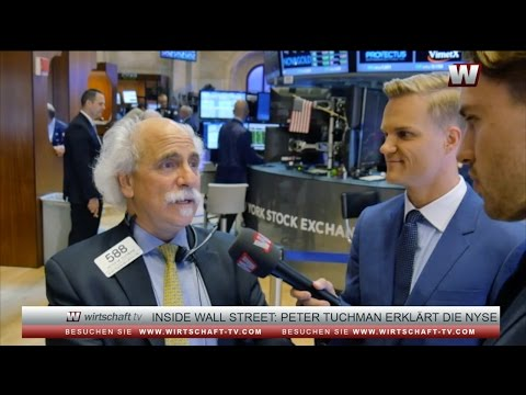 Inside Wall Street: NYSEinstein Peter Tuchman explains the New York Stock Exchange
