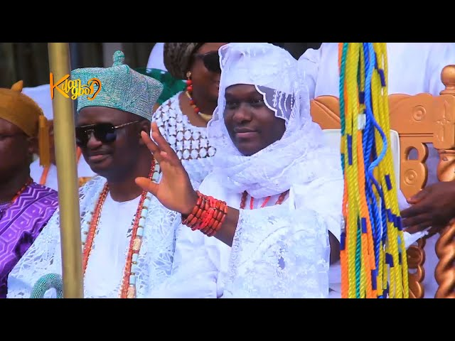 CELEBRATION AS OONI ADEYEYE ENITAN OGUNWUSI CELEBRATES OLOJO FESTIVALS IN 2020