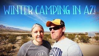 Winter Camping in Arizona  |   Roper Lake State Park Vlog