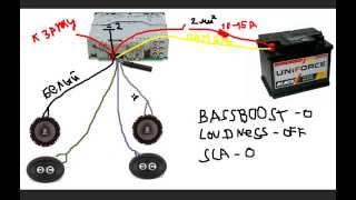 видео подключение магнитолы ваз 2109