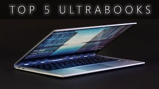 Top 5 Ultrabooks (2018)