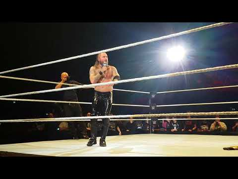 WWE/NXT Aleister Black back in Amsterdam (dutch)