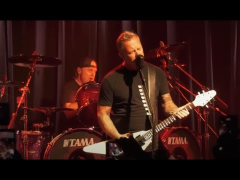 """Metallica release live video for """"Whiplash"""" from surprise show"""
