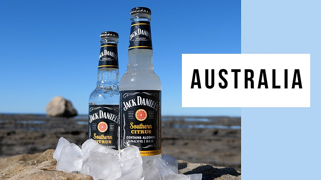 New Jack Daniel's Southern Citrus Country Cocktail Tasting In Australia