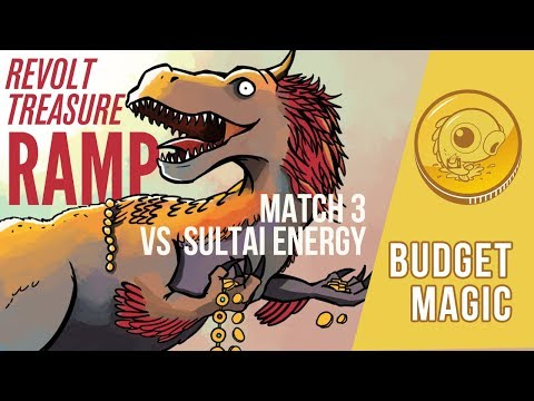 Budget Magic: Revolt Treasure Ramp vs Sultai Energy (Match 3)