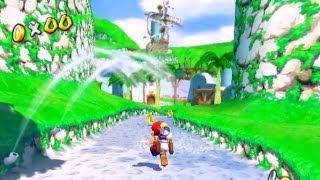 Vamos Jogar: Super Mario Sunshine #1 - 'Cerceamento De Defesa'