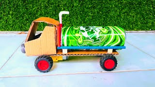 lKT 89 How to make a Battery Powered Truck_ Easy