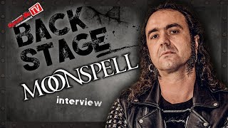 MOONSPELL - interview with Fernando in Prague
