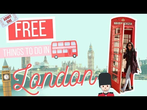 Free Things To Do In London, Insta Tips And Fun Facts! | First Travel Vlog MeryllGoRound
