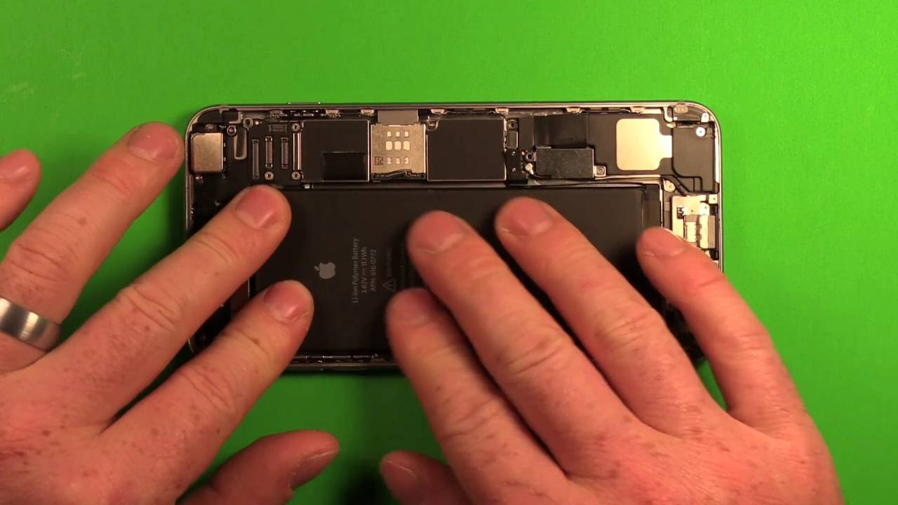 iphone 6 plus battery replacement guide how to. Black Bedroom Furniture Sets. Home Design Ideas