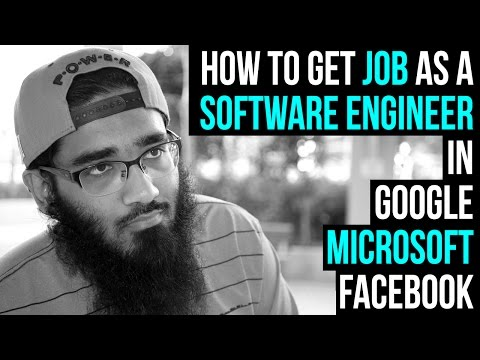 How to Get Job as a Software Engineer in Google, Microsoft and Facebook ?