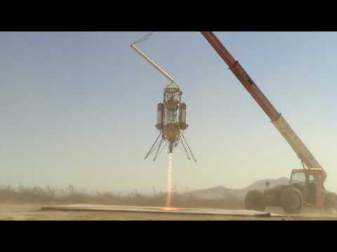 Vertical takeoff and landing rocket, flight 32. 2009.10.02