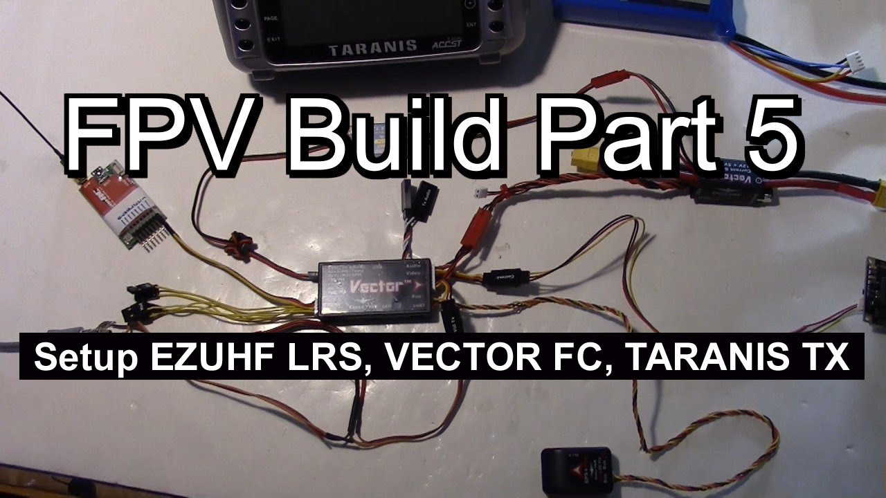 Vector OSD, EZUHF, RSSI, Flight Modes, Taranis Setup for Twin Star ...