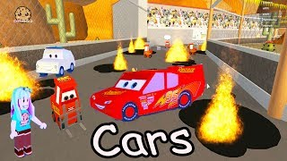 Lightning Mcqueen Is In Jail!!!! Cars Roblox Obby Crazy Obstacle Course Game Play