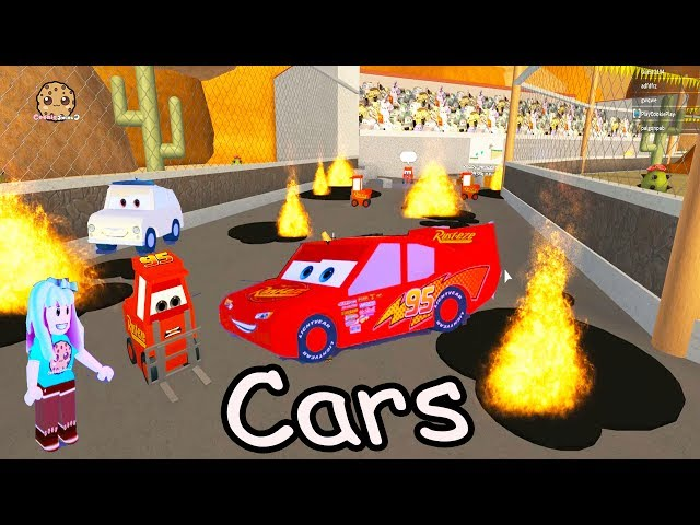 Lightning Mcqueen Is In Jail Cars Roblox Obby Crazy