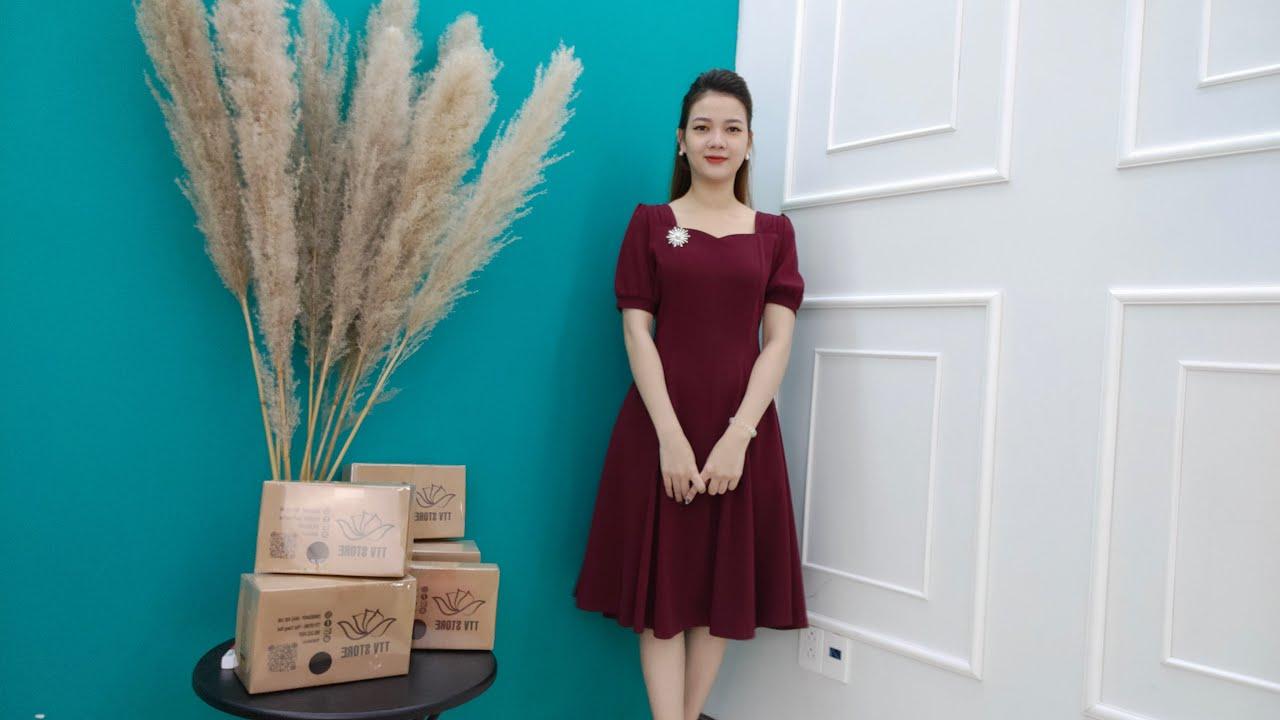 [ LIVE 151 ] – Đầm Trung Niên Đẹp GIẢM GIÁ SỐC – Thời Trang Trung Niên 2021