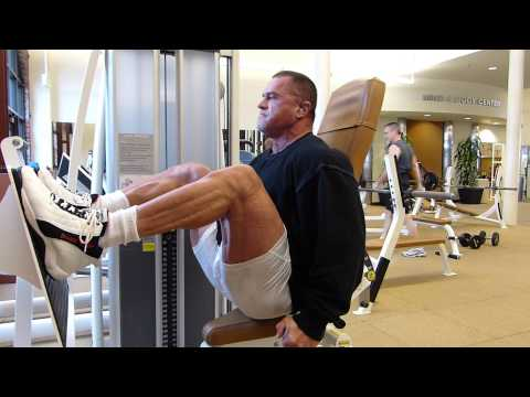 Cybex Eagle Leg Press. Full resistance 505lb's for 16 reps.