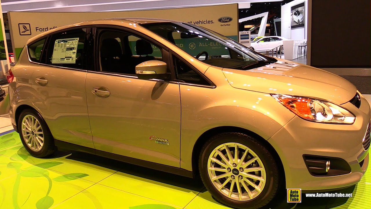 2015 Ford C Max Energi Sel Exterior And Interior