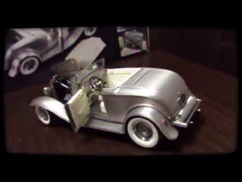 1932 Ford Deuce Roadster Real Steel Rodder's Journal Car 1/18 by gmp