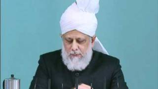 Friday Sermon: 19th November 2010 - Part 2 (Urdu)