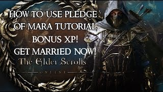 The Elder Scrolls Online How to use Pledge of Mara
