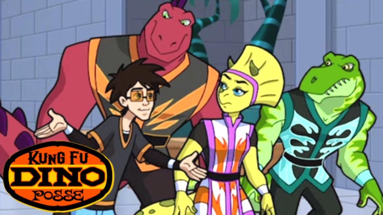 Kung Fu Dino Posse - Loose Links | Full Episode | Kids