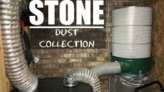 Dust Collection System - Full Setup with Accessories