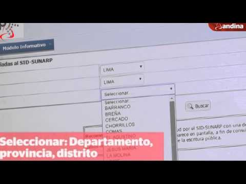Sunarp explica cómo procede el Sistema de Intermediación Digital