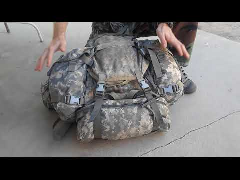Molle II Assault Pack Modification