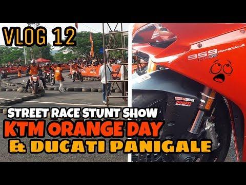 KTM Race Stunts | KTM Orange Day | Guwahati | Ducati Panigale | Vlog 12