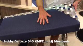 Review Hobby De Luxe 540 KMFe te koop Meerbeek Caravans & Campers Doetinchem