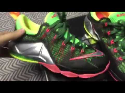 cda272ed1a4 Lebron 12 low Remix review - YouTube