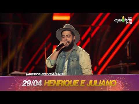SHOW DIA 29 -  Henrique e Juliano ExpoFemi