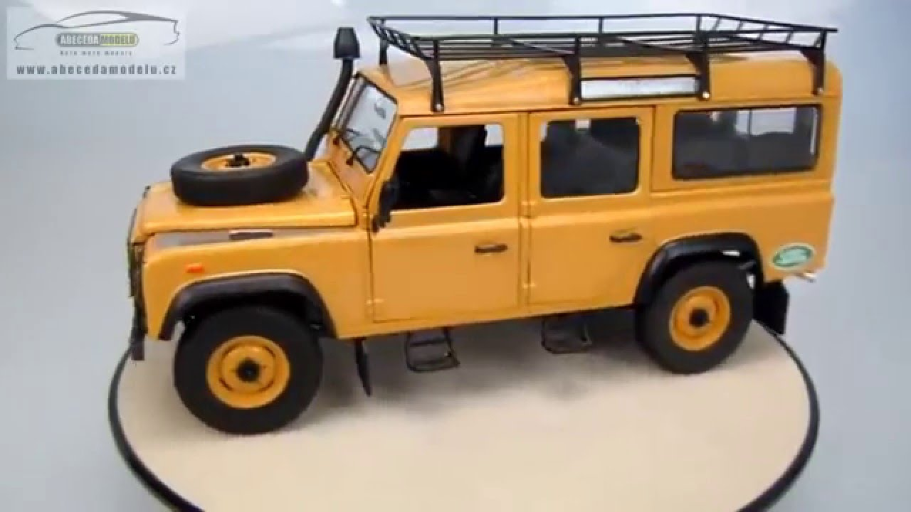 Land Rover Defender 110 Station Wagon Expedition Uh 1 18 Youtube