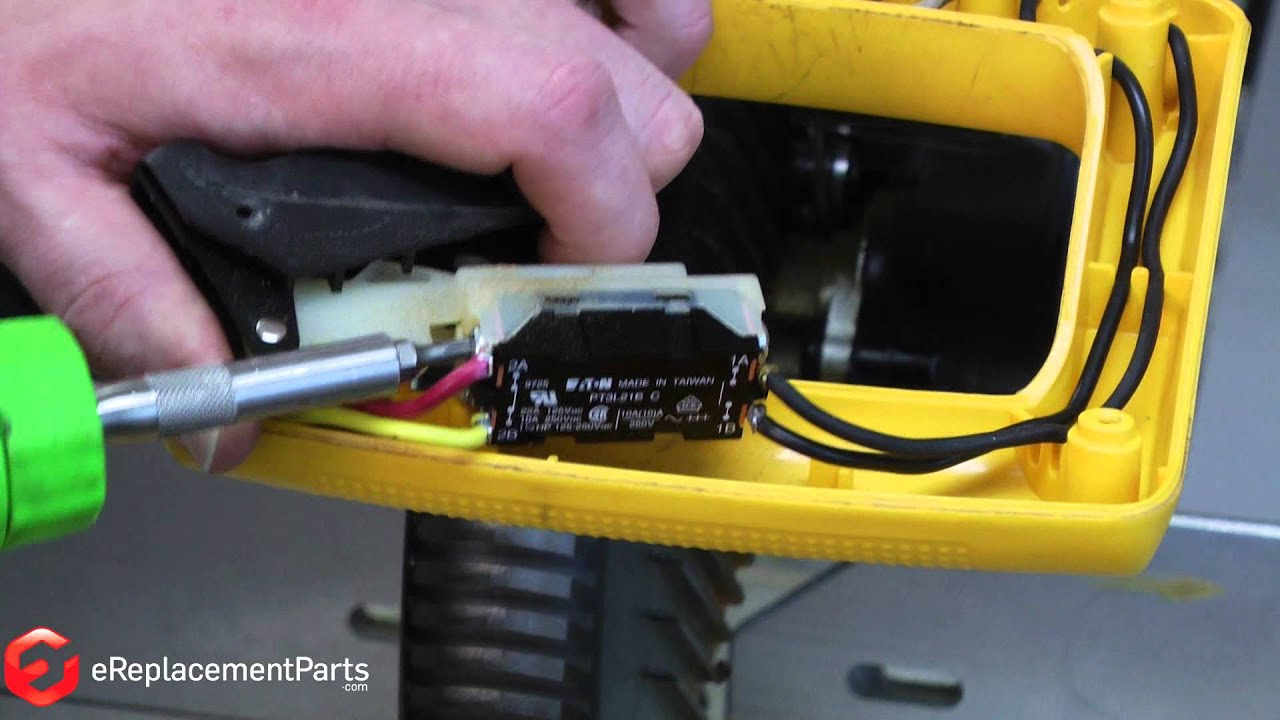medium resolution of how to replace the switch on a dewalt dw708 miter saw a quick fix