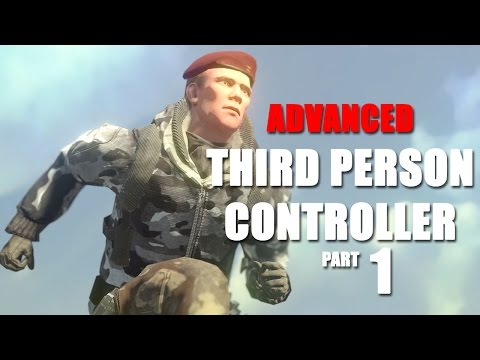 Advanced Third Person Controller Part 1 Animator Setup & State Behaviors - Unity Tutorial