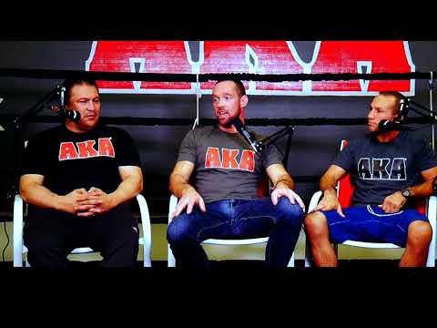 Javier Mendez & Alex Khanbabian - American Kickboxing Academy AKA San Jose, CA