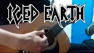 Iced Earth - Watching Over Me (Guitar Cover)